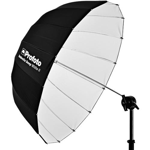 Profoto Deep Small Umbrella 33, Silver Model:100984