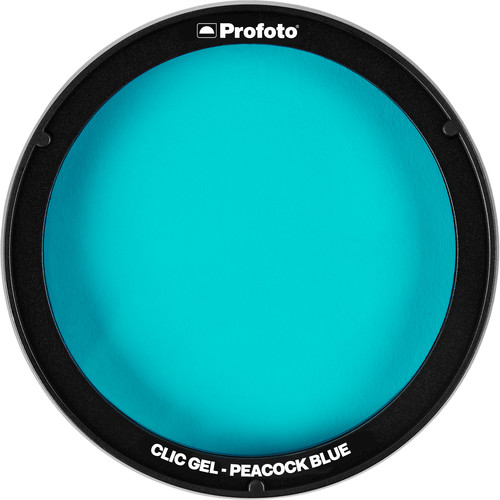 Profoto Clic Gel (Peacock Blue)
