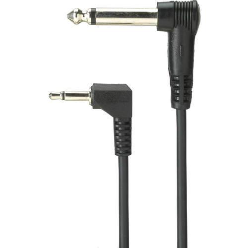 "Profoto Male 1/4"" Phono to Male 3.5mm Miniphone Cable - 11.8"""