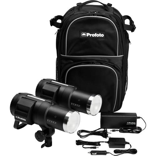 Profoto B1 500 Air Battery-Powered 2-Light Location Kit