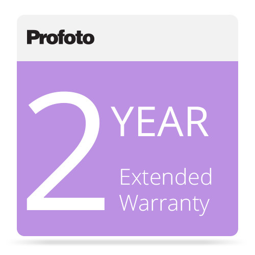 Profoto 2-Year Extended Warranty for Pro B-4 Battery Generator