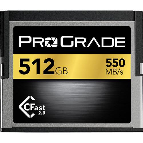 ProGrade Digital 512GB CFast 2.0 V.2 Memory Card
