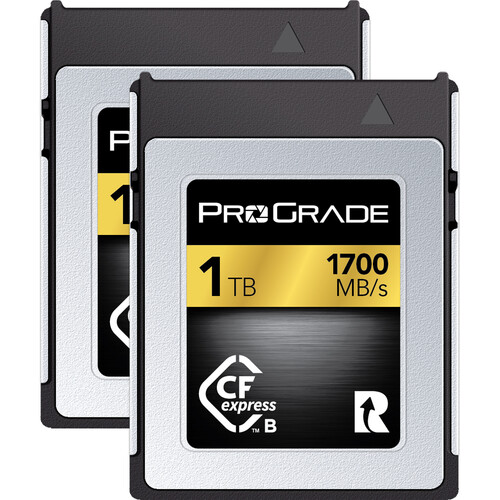ProGrade Digital 1TB CFexpress 2.0 Gold Memory Card (2-Pack)