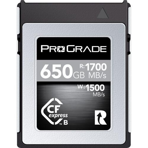 ProGrade Digital 650GB CFexpress 2.0 Cobalt Memory Card