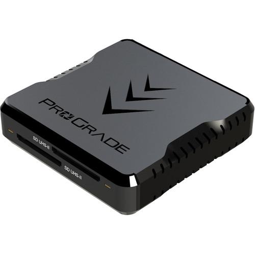 ProGrade Digital Dual-Slot UHS-II SDXC USB 3.1 Gen 2 Type-C Card Reader