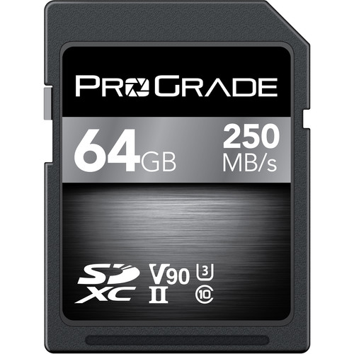 ProGrade Digital 64GB UHS-II SDXC Memory Card