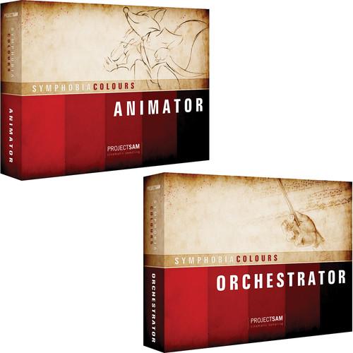 ProjectSAM Symphobia Colours Pack Bundle- Animator/Orchestrator (Download)
