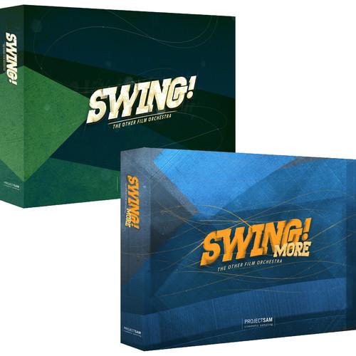 ProjectSAM Swing! Pack Jazz Film Scoring Library Bundle (Download)