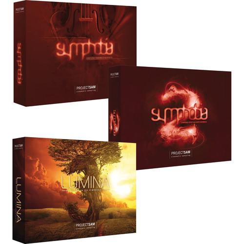 ProjectSAM Symphobia Trio Pack Bundle - The Complete Symphobia Series (USB Drive)