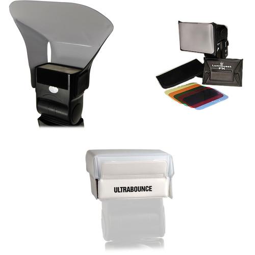 Prolite Bouncer with LumiQuest FX Color Gel System & Ultrabounce Kit
