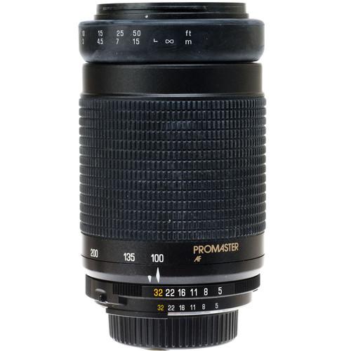 Promaster Zoom Telephoto 100-300mm f/5-6.3 Macro Autofocus Lens for Nikon AF-D