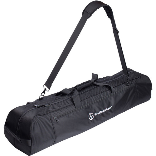ProMediaGear Large Tripod Gear Gig Bag with Shoulder Strap and Dividers (Black)