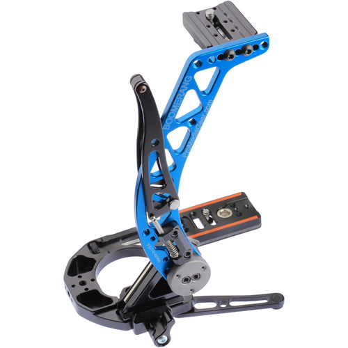 ProMediaGear BBGV2 Boomerang Flash Bracket (Blue)