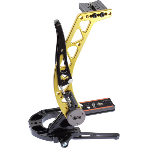ProMediaGear BBGV2 Boomerang Flash Bracket (Gold)