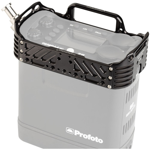 ProMediaGear Profoto B2 Battery Pack Cage Bracket with Stud for B2 Head