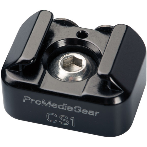 "ProMediaGear Cold Shoe Adapter with 1/4"" Thread"