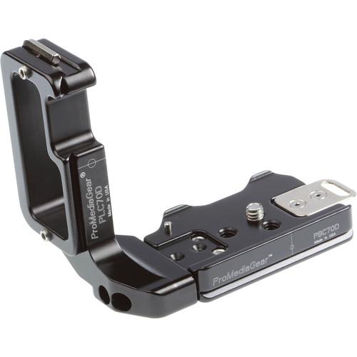ProMediaGear L-Bracket for Canon 70D DSLR