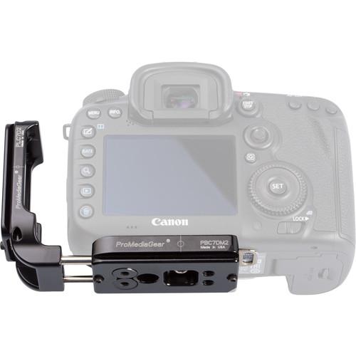 ProMediaGear L-Bracket for Canon 7D Mark II