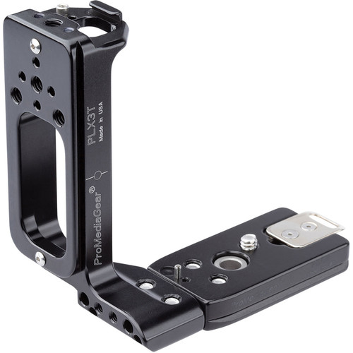 ProMediaGear L-Bracket and L-Plate for Canon EOS-R Body for Flash Brackets, Handles and Straps