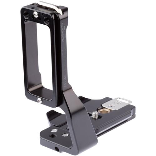 ProMediaGear L-Bracket for Nikon D500 with MB-D17 Battery Grip