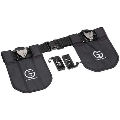 ProMediaGear Dual Camera Holster System (Black)