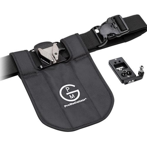 ProMediaGear Single Camera Holster System (Black)