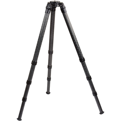"ProMediaGear TR424L 42mm Series 77"" Pro-Stix Carbon-Fiber Tripod with Top Plate"