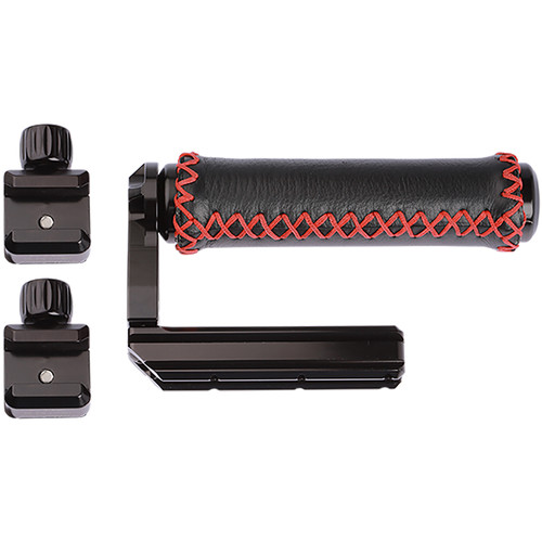 ProMediaGear NATO Rail 90-Degree Handle with Padded Grip & Two CN30 Clamps