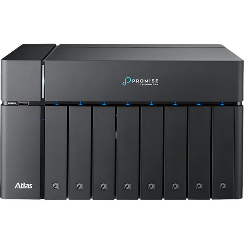 Promise Technology Atlas S8+ Nas Share With 2X 10Ge Base-T Ports 112TB Sata Drives