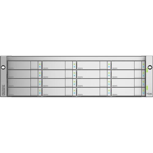 Promise Technology VTrak Ex30 16-Bay RAID Subsystem with Quad 8 Gpbs FC Ports (3 RU)
