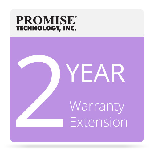 Promise Technology EW2VTJA VTrak x10 Series J-Class 2-Year Warranty Extension Includes Promise HDDs