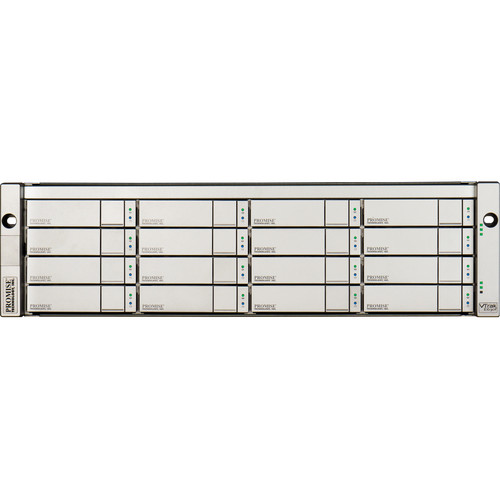 Promise Technology VTrak Ex30f 16-Bay 8 Gb/s Fibre Channel to 6 Gb/s SAS/SATA Storage (64TB)