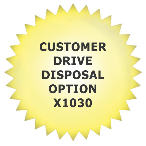 Promise Technology Keep Your Drive Customer Drive Disposal Option for X10 and X30 with Drive (Per Chassis, 2-Year Extension)