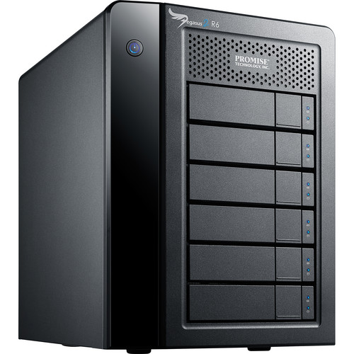 Promise Technology 18TB Pegasus2 R6 Thunderbolt 2 RAID Storage Array