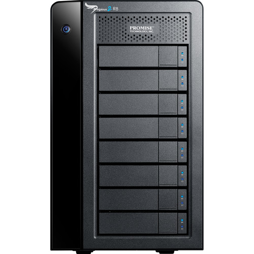 Promise Technology 32TB Pegasus2 R8 Thunderbolt 2 RAID Storage Array (7200 rpm)