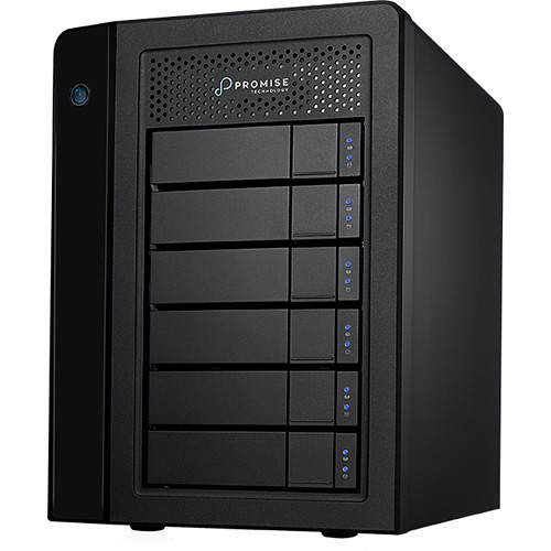 Promise Technology Pegasus3 R6 Mac Edition 36TB 6-Bay Thunderbolt 3 RAID Array (6 x 6TB)