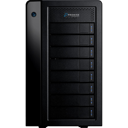 Promise Technology 48TB Pegasus3 Symply Edition R8 Thunderbolt 3 RAID Array (8 x 6TB)