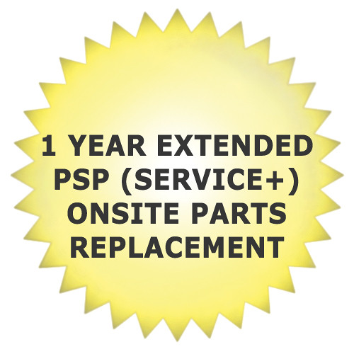 Promise Technology 1-Year PSP (Promise Service Plus) Onsite Parts Replacement Service for Pegasus R4 / R6 RAID with Drives