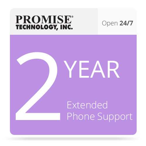 Promise Technology PR2Y24X7STDP 2-Year Extended 24x7 Phone Support