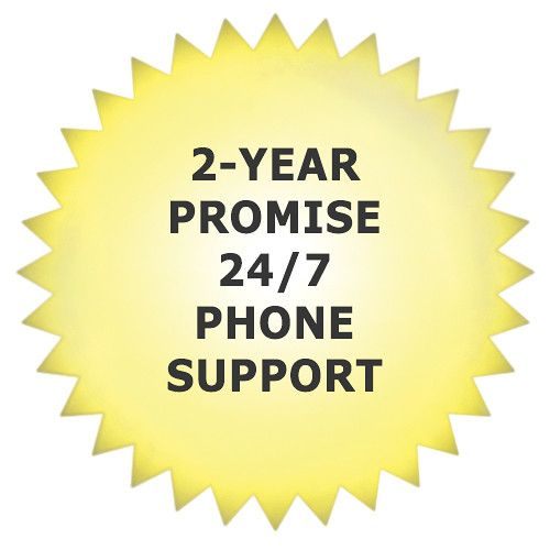 Promise Technology 2-Year Promise 24/7 Phone Support