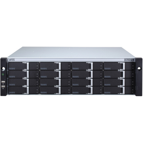 Promise Technology VA2600GZSAKE 16-Bay Vess A2600 NVR Storage Appliance (3U, 16 x 3TB Enterprise HDD)