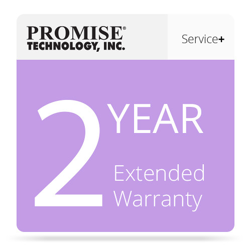Promise Technology 2-Year Extended Warranty for Vess A2000 Series NVR Appliances with Drives