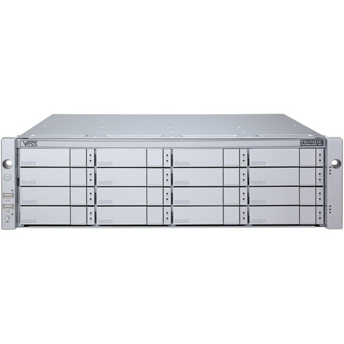 Promise Technology 32TB Vess J2600sD 3U 16-Bay 6Gb SAS JBOD Storage Expansion Chassis