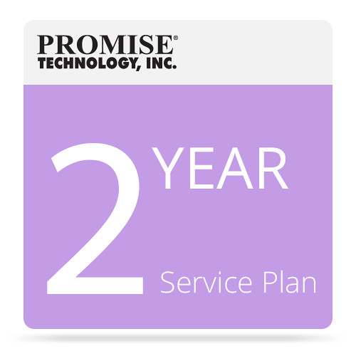 Promise Technology ServicePlus-NBD Service Plan for Vess J2000 Series JBOD with Drives (2-Year Extension)