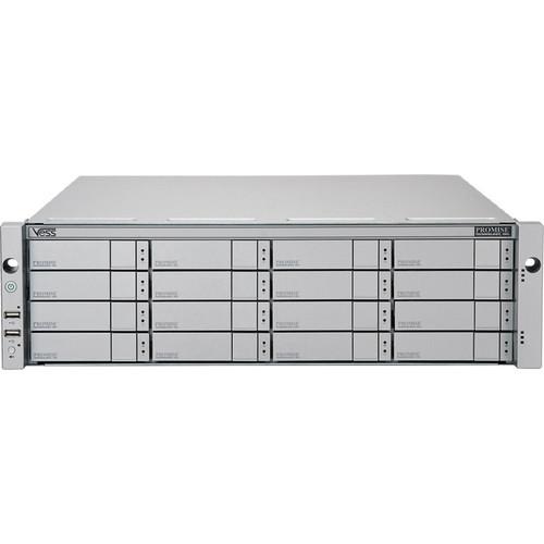 Promise Technology 48TB Vess R2600iD 16-Bay 8x 1GbE iSCSI to 6Gb SAS/SATA RAID Subsystem