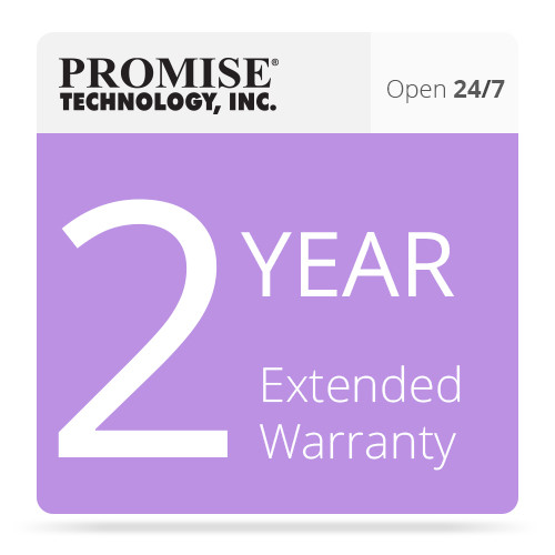 Promise Technology VR2KSE2YRAA 2-Year Extended Warranty