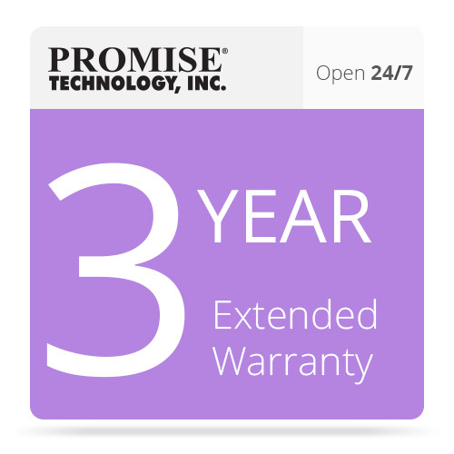 Promise Technology VR2KSE3YRAA 3-Year Extended Warranty