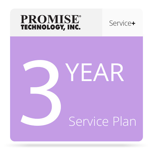 Promise Technology ServicePlus-NBD Service Plan for Vess 2000 Series RAID Head with Drives (3-Year)