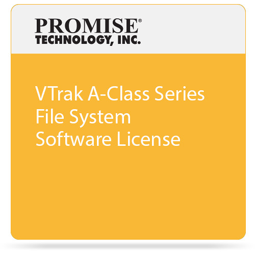 Promise Technology VTrak A-Class Series File System Software License