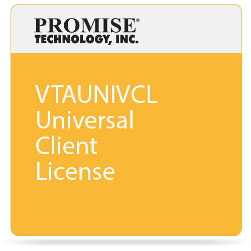 Promise Technology VTAUNIVCL Universal Client License